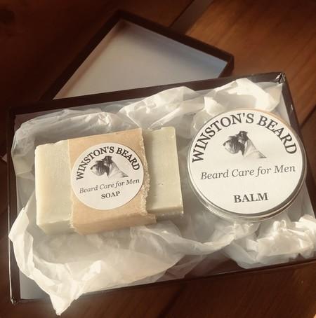 Beard Soap and Balm Duo
