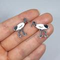 Bin Chicken (Ibis) Studs // HypoAllergenic // FREE POSTAGE // Laser Cut Acrylic