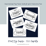 Pretty Teacup 108 Card Deck