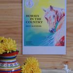 2019 A3 Horse Portrait Wall Calendar