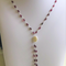 Limited Edition Garnet Gemstone  Necklace and Earrings