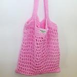 Post free. Market bag, mesh, cotton, crochet, reusable, enviro friendly