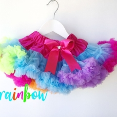Girls Tutu Rainbow Swirl Girls Pettiskirt Tutu 2 sizes available 1- 5 years