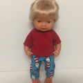 Miniland Dolls Shorts and Tee to fit 38cm Dolls