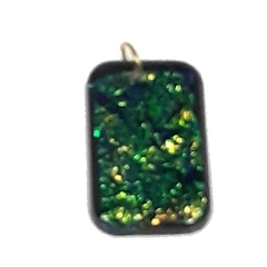 Sparkling Green Pendant