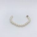 Swarovski white Pearl and Sterling Silver Bracelet