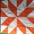 Cushion covers. Lemoyne Star.