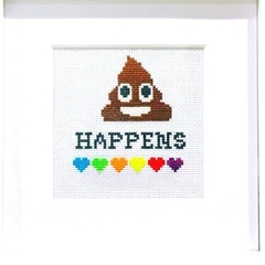 Custom made cross stitch quotes