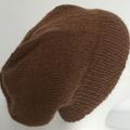 Unisex adult hand knit slouchy/beanieAustralian Alpaca 100% Page 2/4