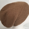 Unisex adult hand knit slouchy/beanieAustralian Alpaca 100% Page 1/4