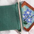 Royal Bluebell Mosaic Coaster