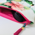 Fold over clutch in Tommy Bahama fabric
