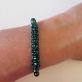 Crystal and Swarovski Pearl Bracelet