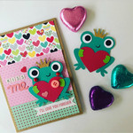 Valentines Day Card - love card handmade - free post