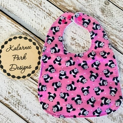 """Panda Bears"" on Pink