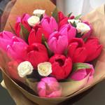10 paper tulip, paper flower,decoration, wedding, gift