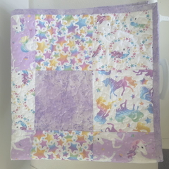 Unicorn baby blanket/quilt
