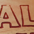 Vintage Royal Enfield Motorcycle Carving