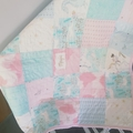 Baby quilt/blanket, baby quilts, play mat,
