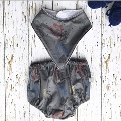 Harry Potter bib and nappy cover set