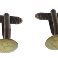 Vintage Style Gold Cuff Links