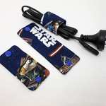 Cable Wrap Set- 1 each of small, medium and large - Star Wars design