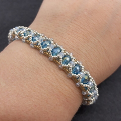 Silver Gold Blue 