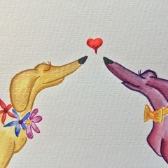 """""""Perfect match"""" card Limited Edition Prints"""