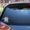 Little One on Board Car Decal, Baby
