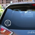 Fur Baby on Board Car Decal, Dog Cat
