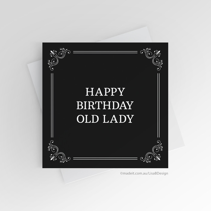 Funny Birthday Card For Mum For Sister Daughter Best Friend