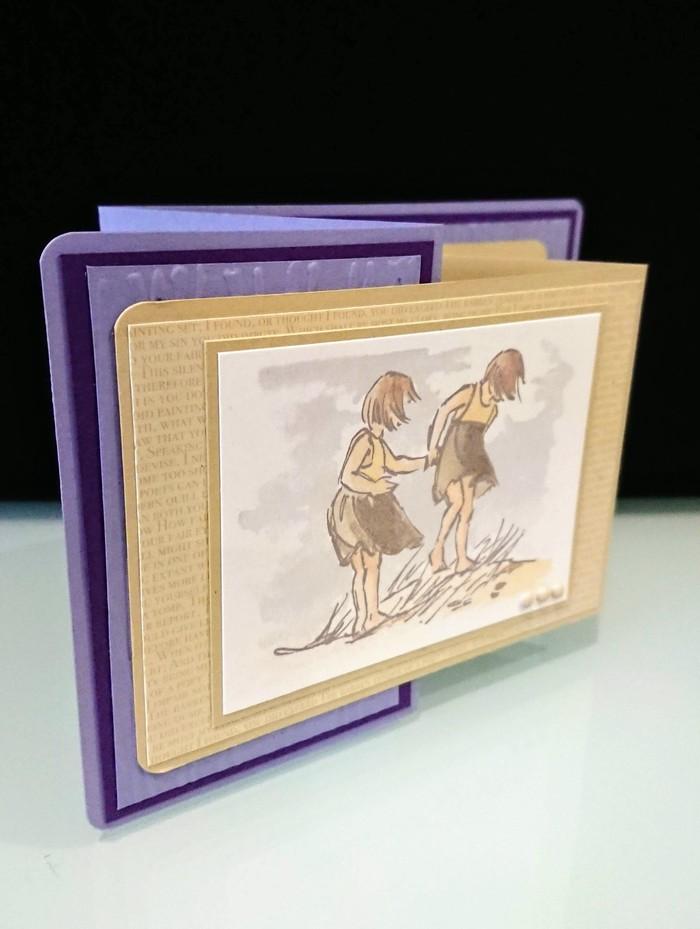 Friends - Double Z Card - Blank Card | MerryMade Cards | madeit com au