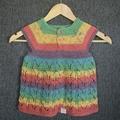 Girls Lace Style knit dress 18mths plus