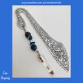 LOVE - silver colour bookmark
