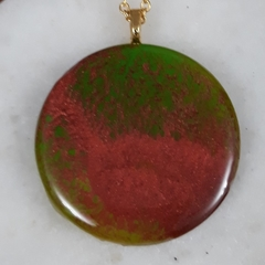 Fire in Forest  Pendant