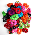 Mystery Set of 3 Colourful Hair Scrunchies