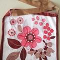 Vintage floral print tote bag & matching zip wallet