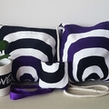 3 x Purple Orb Tote Bags &