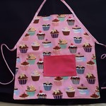 Cupcake Reversible Apron - Child's Size
