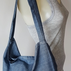 5 pack Tote/shopping Bag - Blue grey