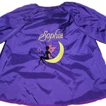 Art Smock - Personalised Girls - Fairy on a moon
