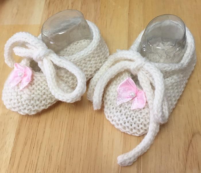 b0d123dc7da6 Newborn Baby Booties Shoes