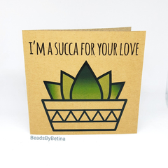 Anniversary Card / Quirky / Succulent / Avocado / Pun / Free Aus Shipping