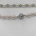 White Swarovski Necklace