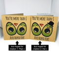Anniversary Card / Quirky / Avocado / Pun / Funny / Valentines/ Free Au Shipping