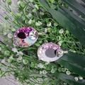 Super Sparkly Unicorn Glitter - Oval Hook Dangle earrings