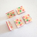 Maple Leaves Soap Bar - Kawaii soap art