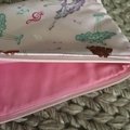 Pink ballerinas pencil case