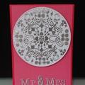 Wedding Card - Mandala - Mr & Mrs
