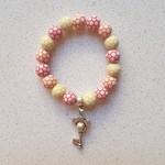 Mickey Mouse Key Charm Bracelet